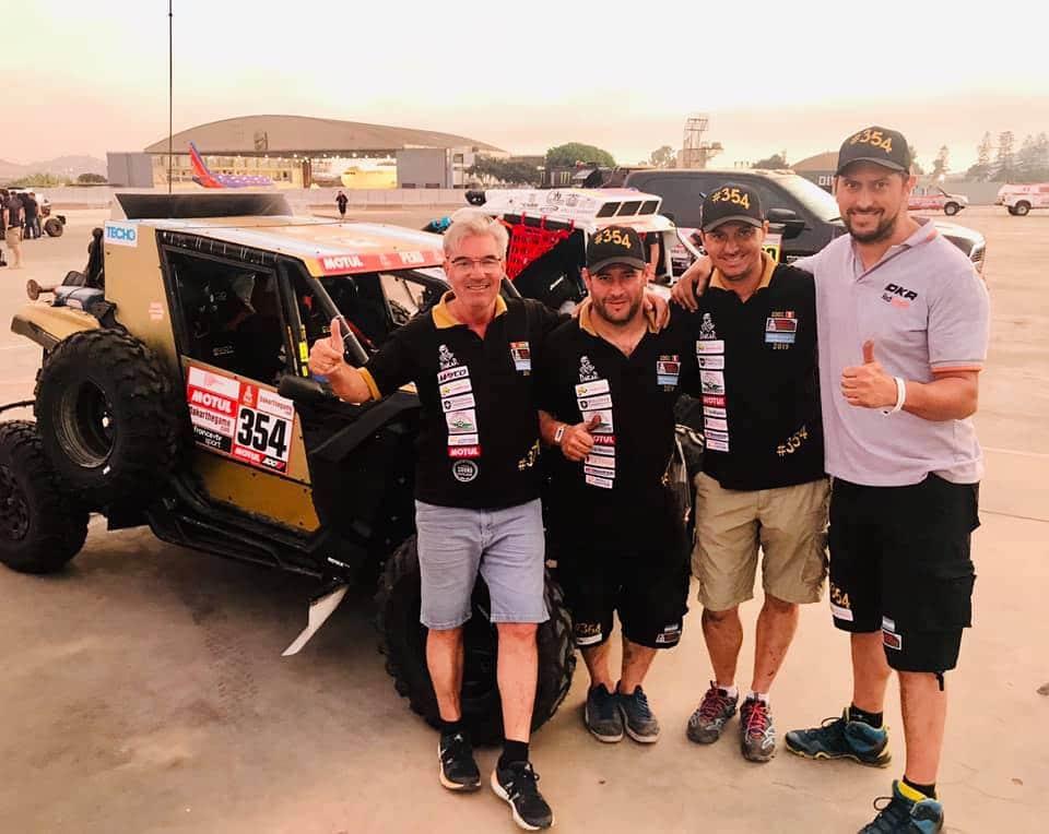 Dakar 2019: Omar Gandara ya está en carrera