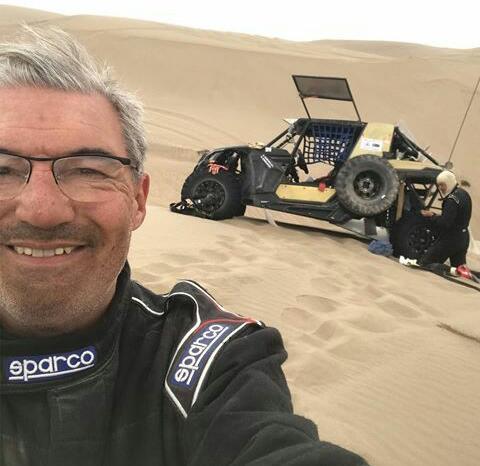 Omar Gandara finalizó la tercera etapa del Dakar 2019