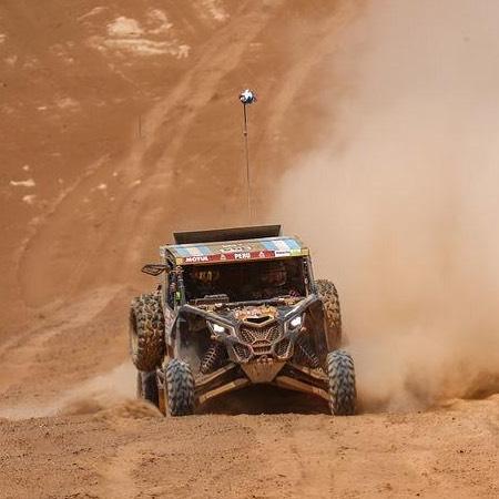 Omar Gandara finalizó la etapa 8 del Dakar 2019