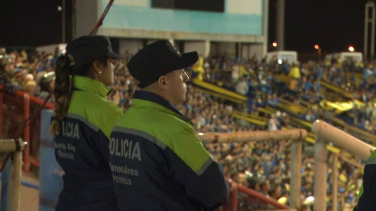 Hubo 20 demorados en la previa al cotejo de anoche entre Boca y Unión