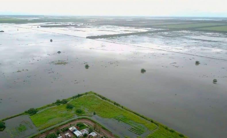 Cuatro muertos y más de 5.000 familias asistidas por el temporal en el litoral