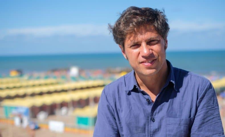 """Kicillof en Mar del Plata: """"en esta temporada comenzó a moverse la economía"""""""