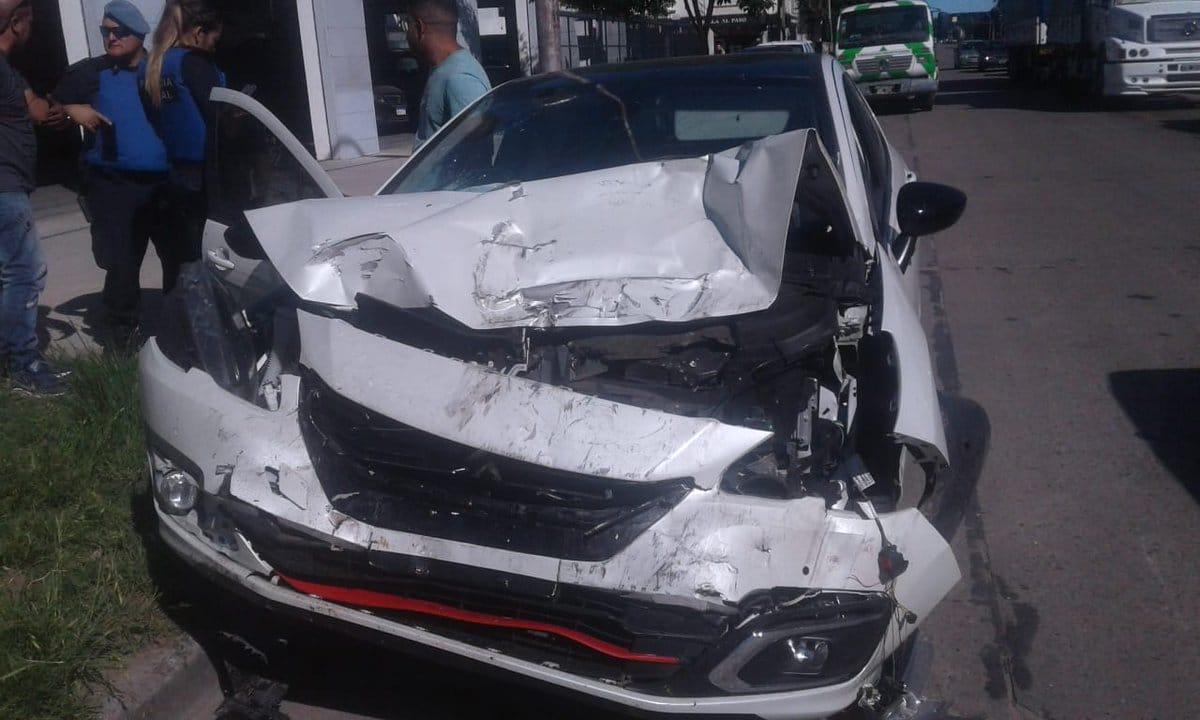 Múltiple choque causado por un conductor alcoholizado