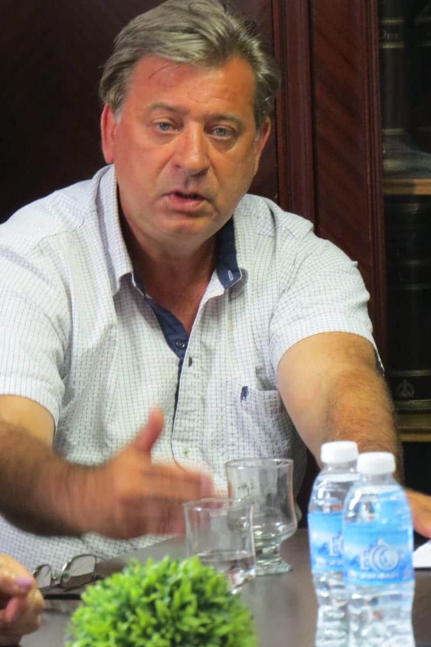 """Bianchi: """"Nuestra prioridad es defender las fuentes de Trabajo"""""""