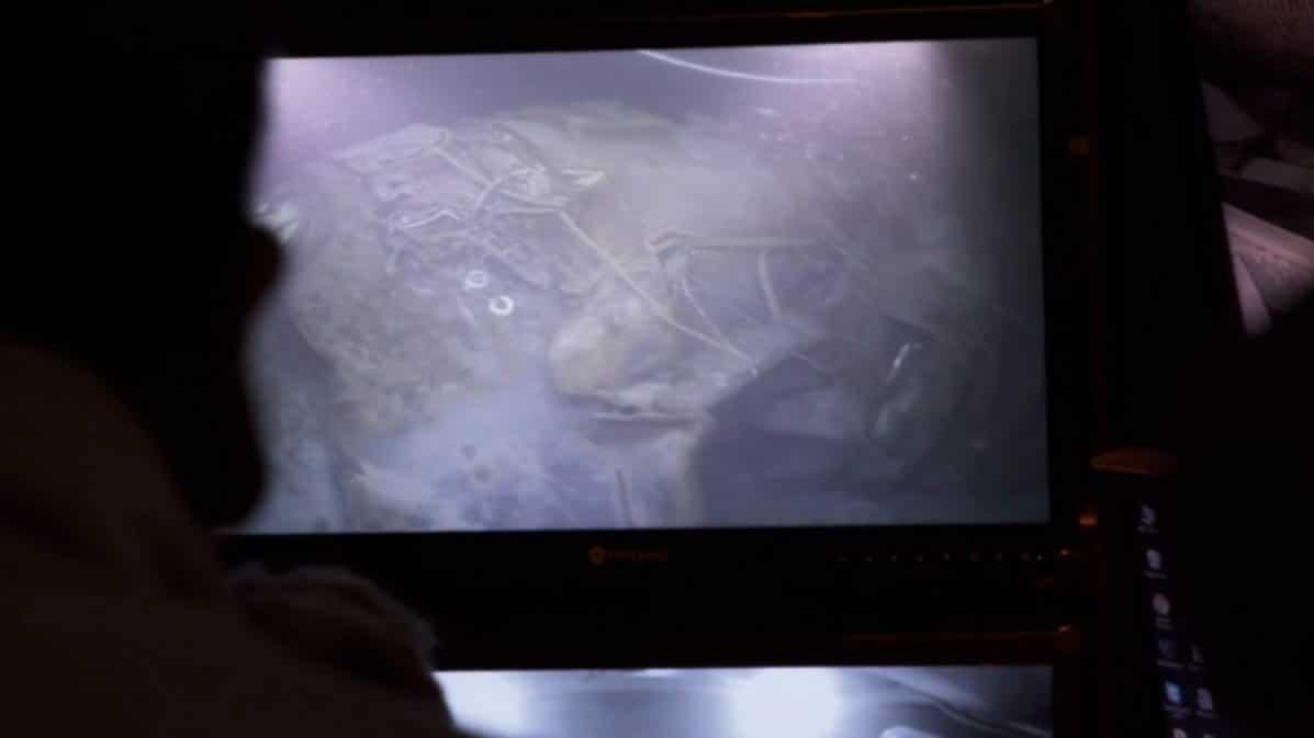 ARA San Juan: los familiares se reunieron a ver las imágenes del submarino