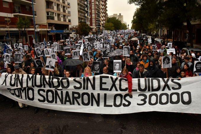 Mar del Plata clamó por Memoria, Verdad y Justicia