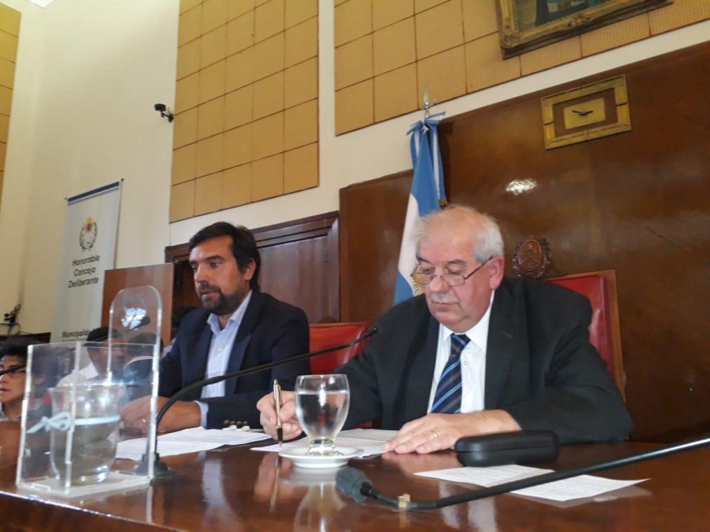 Saenz Saralegui seguirá como presidente del Concejo Deliberante