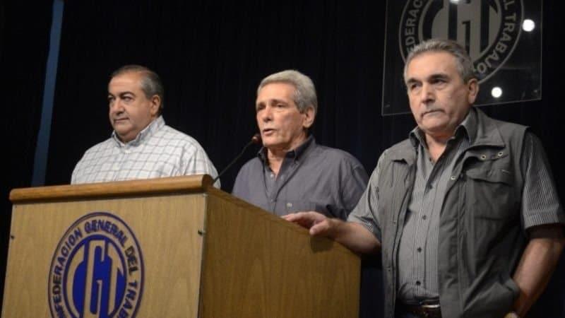 """La CGT reclamó al Gobierno """"la inmediata reapertura de las negociaciones paritarias"""""""