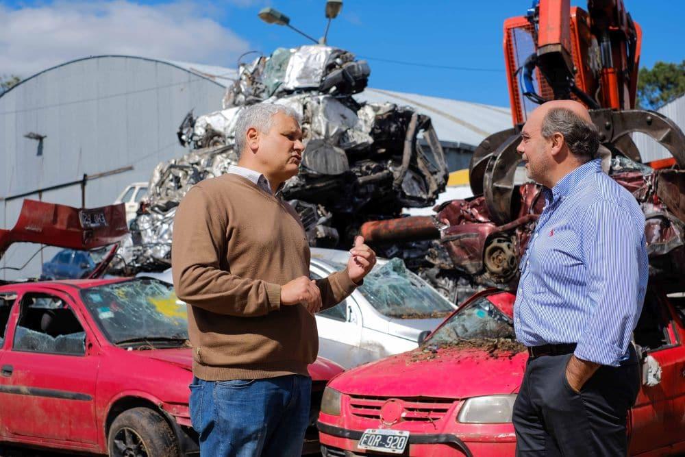 El Municipio ya lleva compactados más de 750 vehículos