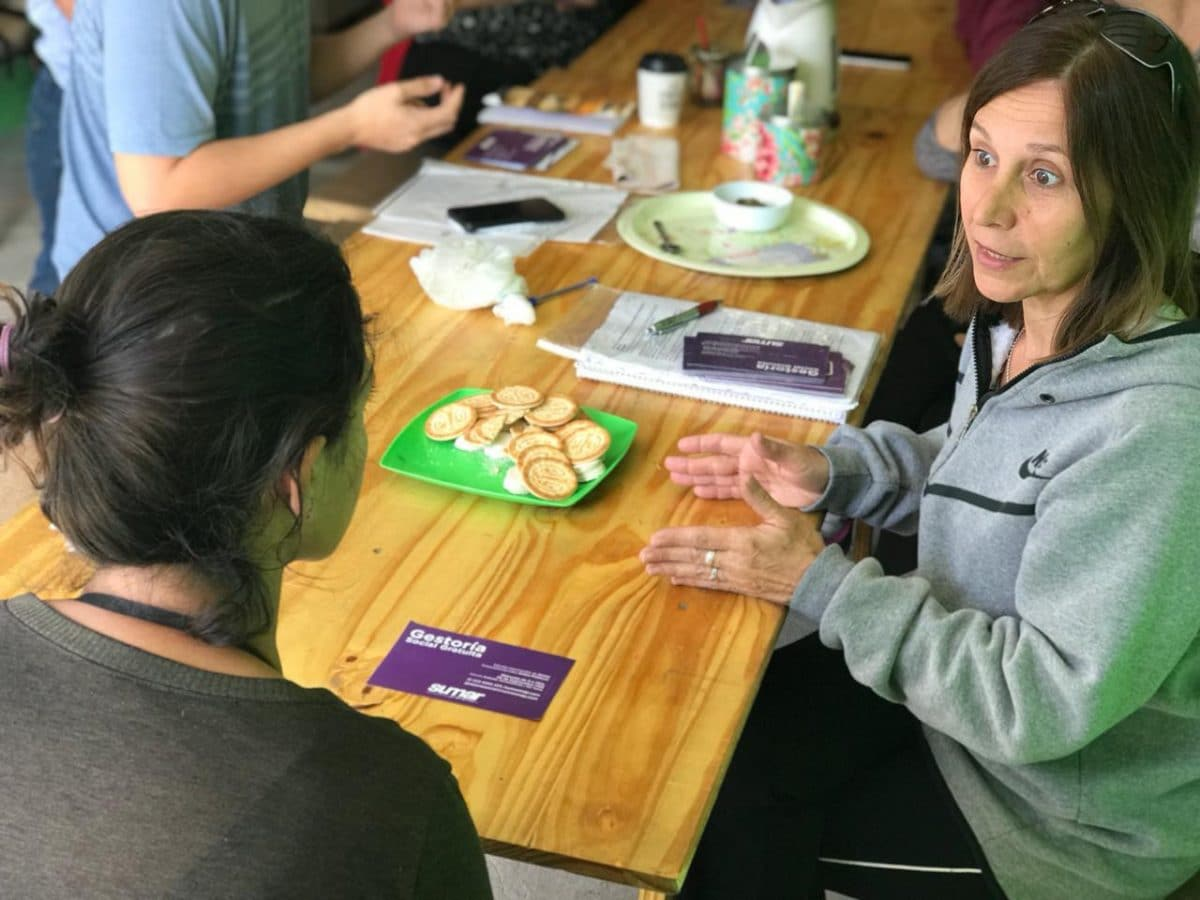 Con su Gestoría Social Gratuita, Sumar por Mar del Plata se reunió con vecinos de Las Canteras