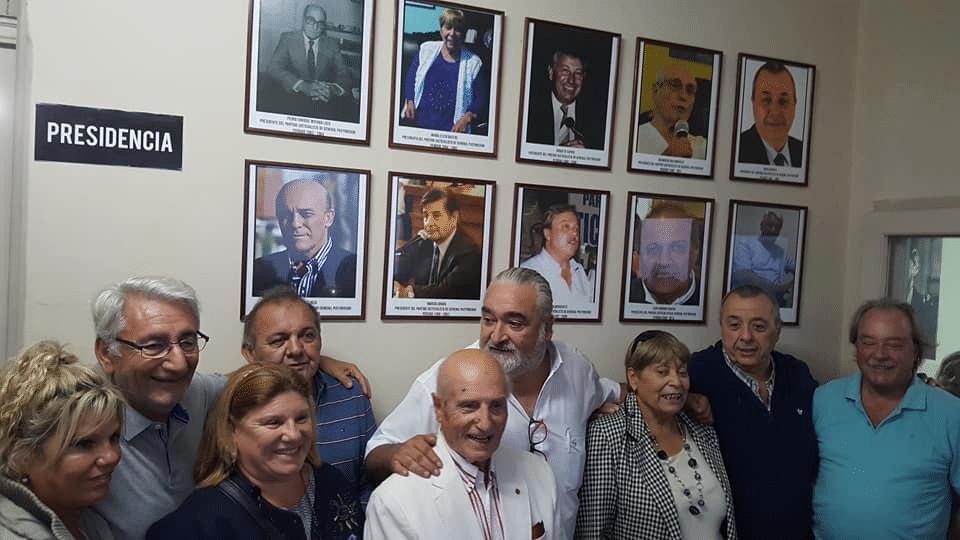 Homenaje a los ex presidentes del PJ