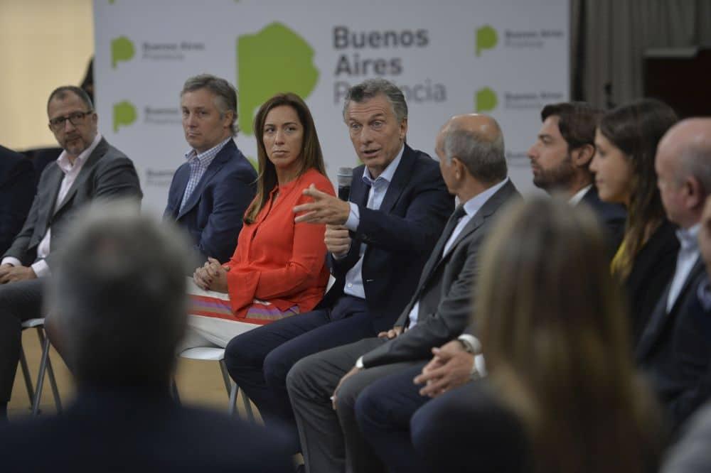 Macri y Vidal encabezaron reunión de gabinete provincial