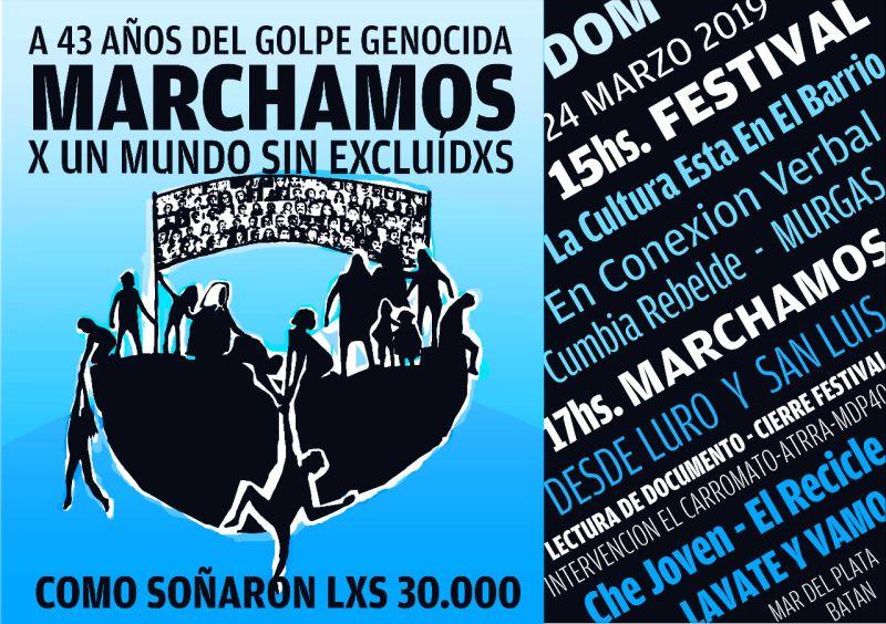 Día de la Memoria: se dio a conocer el documento que se leerá en Mar del Plata