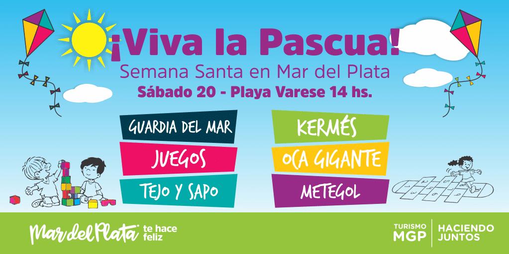 """En Playa Varese realizará el Festival """"¡Viva la Pascua!"""""""