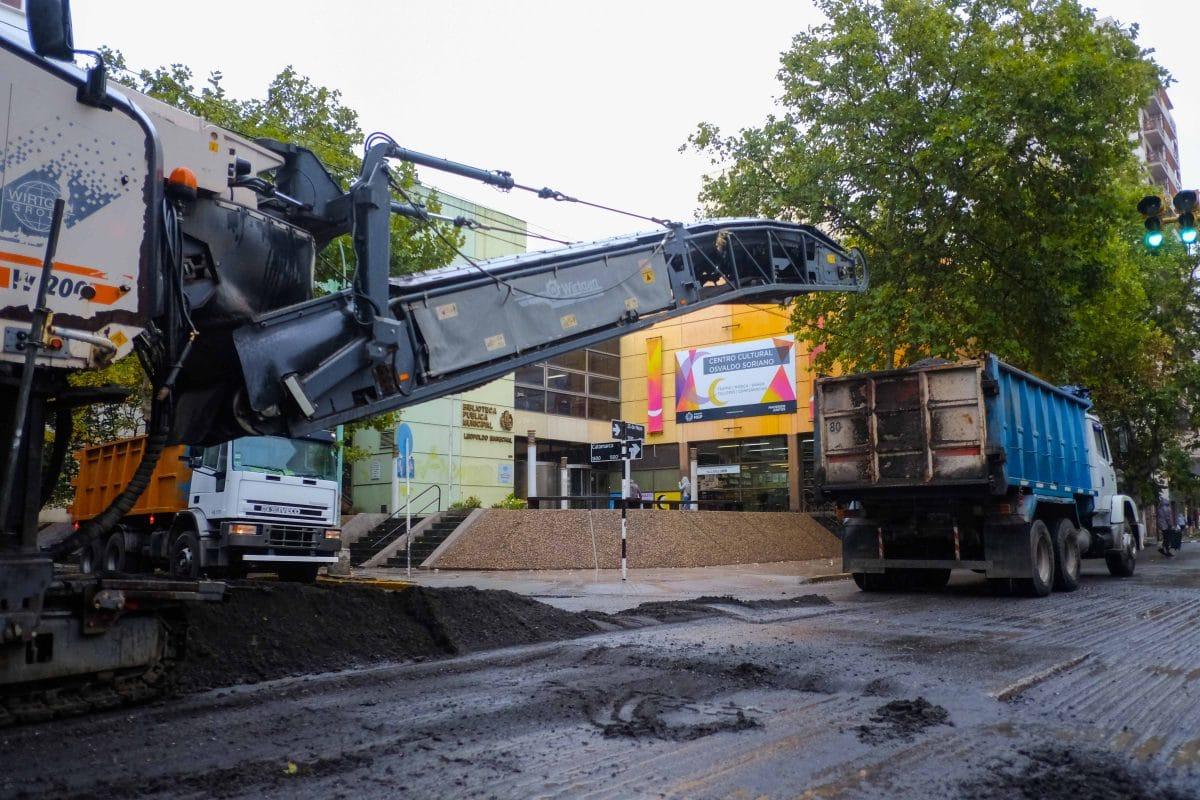 """Piden """"paciencia"""" por obras de asfalto en el micro y macrocentro"""