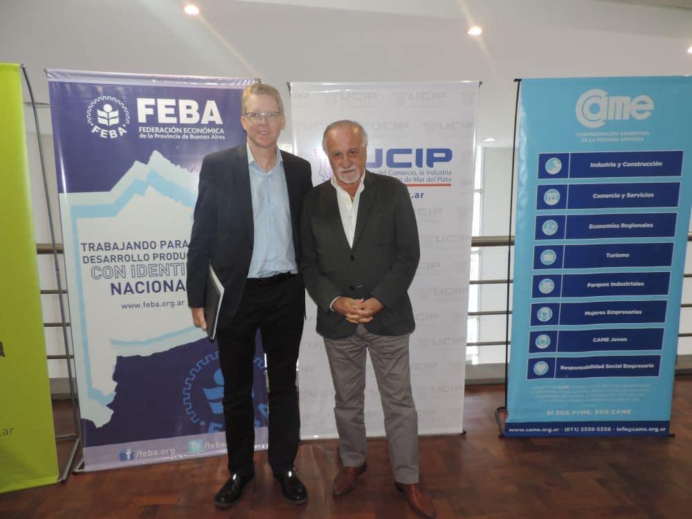 "Presentaron programa ""CUENTA DNI"" a comerciantes de Mar del Plata"