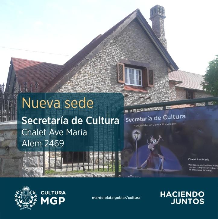 La Secretaría de Cultura ya funciona en el chalet «Mariano Mores»