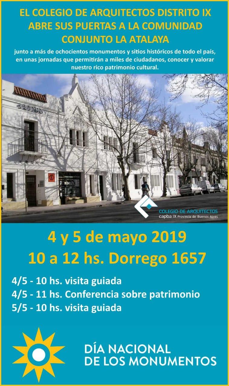 El Colegio de Arquitectos de Mar del Plata se suma al Día Nacional de los Museos