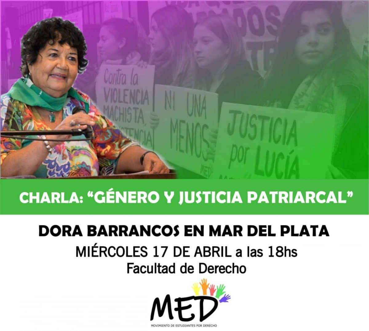 Dora Barrancos disertará en la Facultad de Derecho