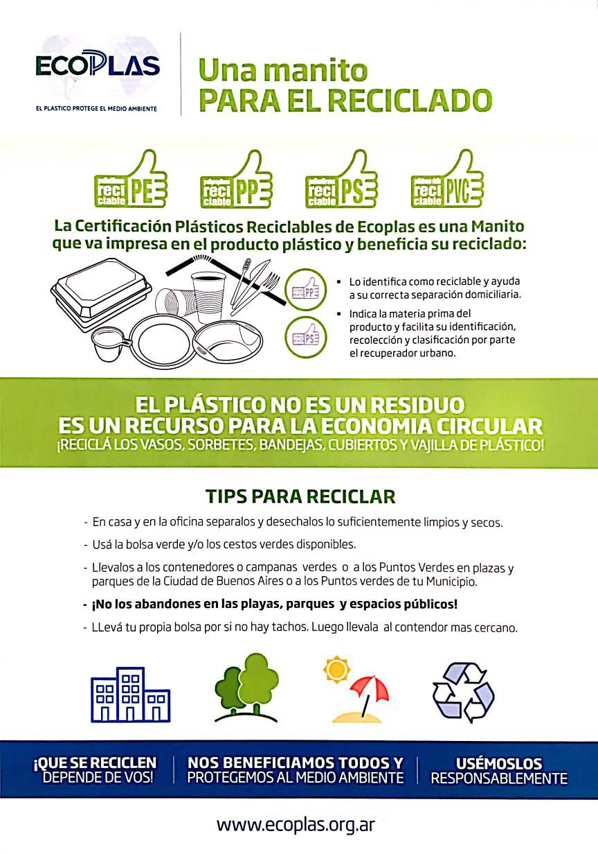 Directivos de ECOPLAS se reúnen con concejales y hablan sobre la importancia del reciclaje de plásticos en Mar del Plata.
