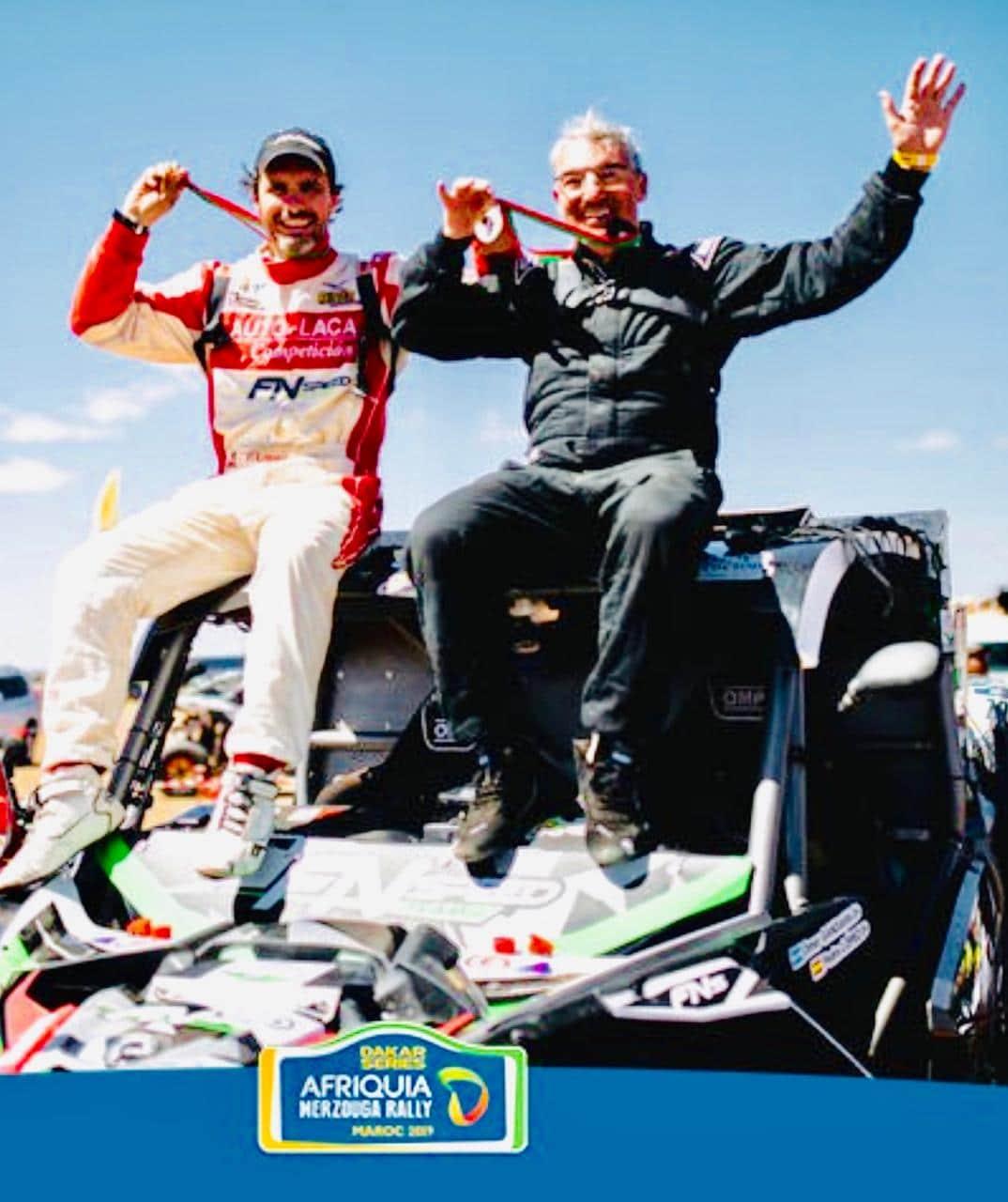 Omar Gandara finalizó el Rally de Merzouga