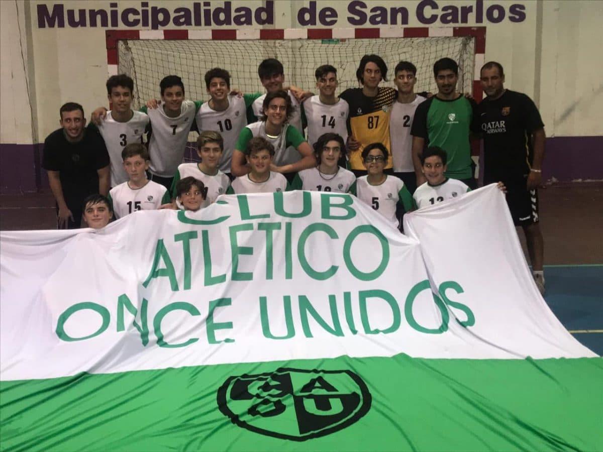 Gran imagen de Atlántica en los Torneos Nacionales de Menores
