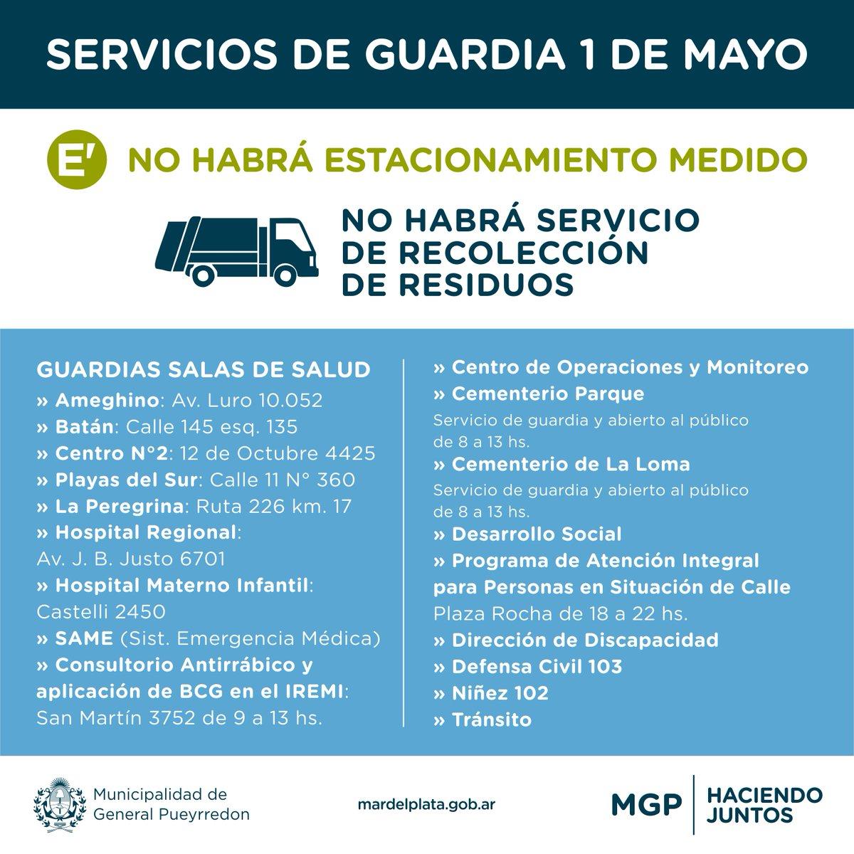 Día del Trabajador: sin recolección de residuos ni colectivos en Mar del Plata