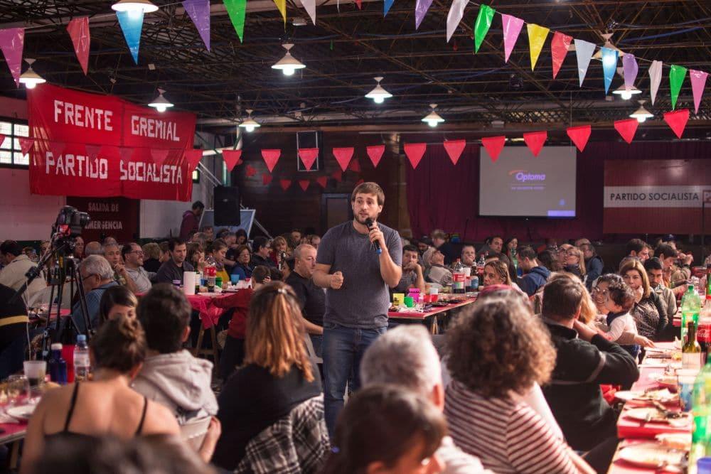 El Partido Socialista resaltó la necesidad de construir una alternativa en la ciudad