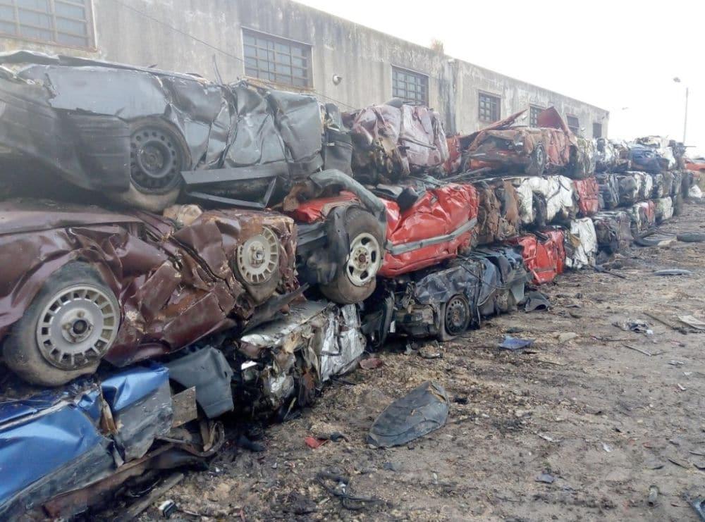 El municipio avanza con el tramo final de la compactación de vehículos