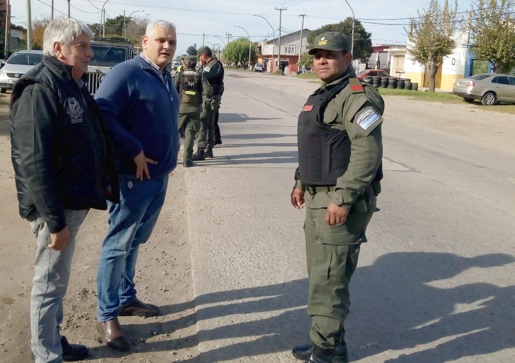 Tránsito inició operativos conjunto con Gendarmería Nacional