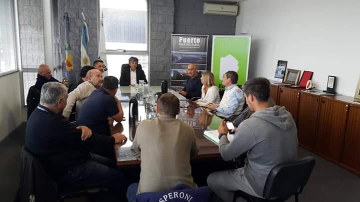 La CGT Mar del Plata y sectores sindicales analizaron la problemática del puerto