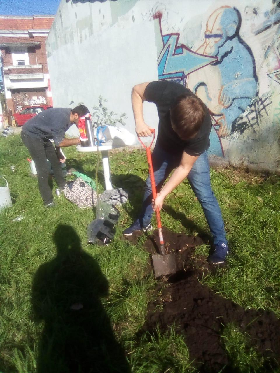 """""""Plantá un árbol"""", iniciativa del Socialismo para impulsar una Red de Hogares Verdes"""