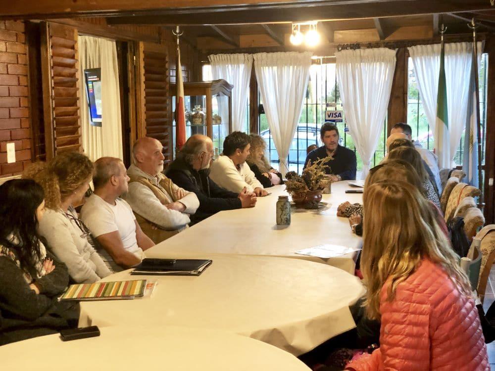Castello se reunió con vecinos del Bosque Peralta Ramos
