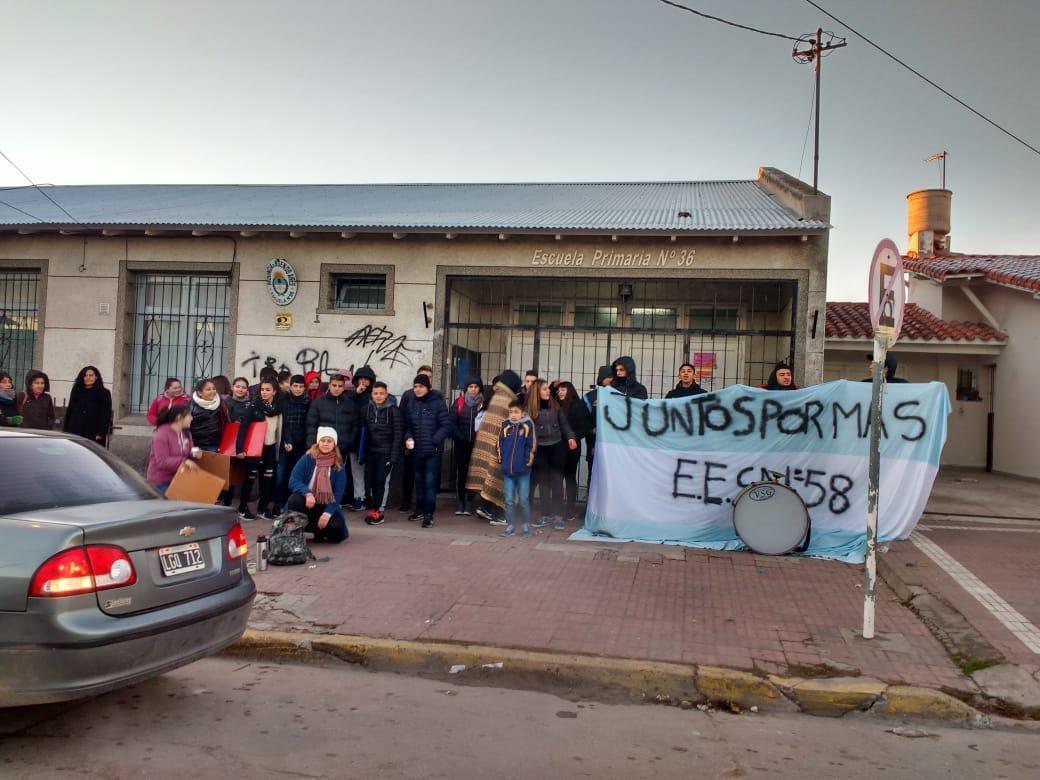 Luego de dos años, reabre una escuela secundaria en Mar del Plata