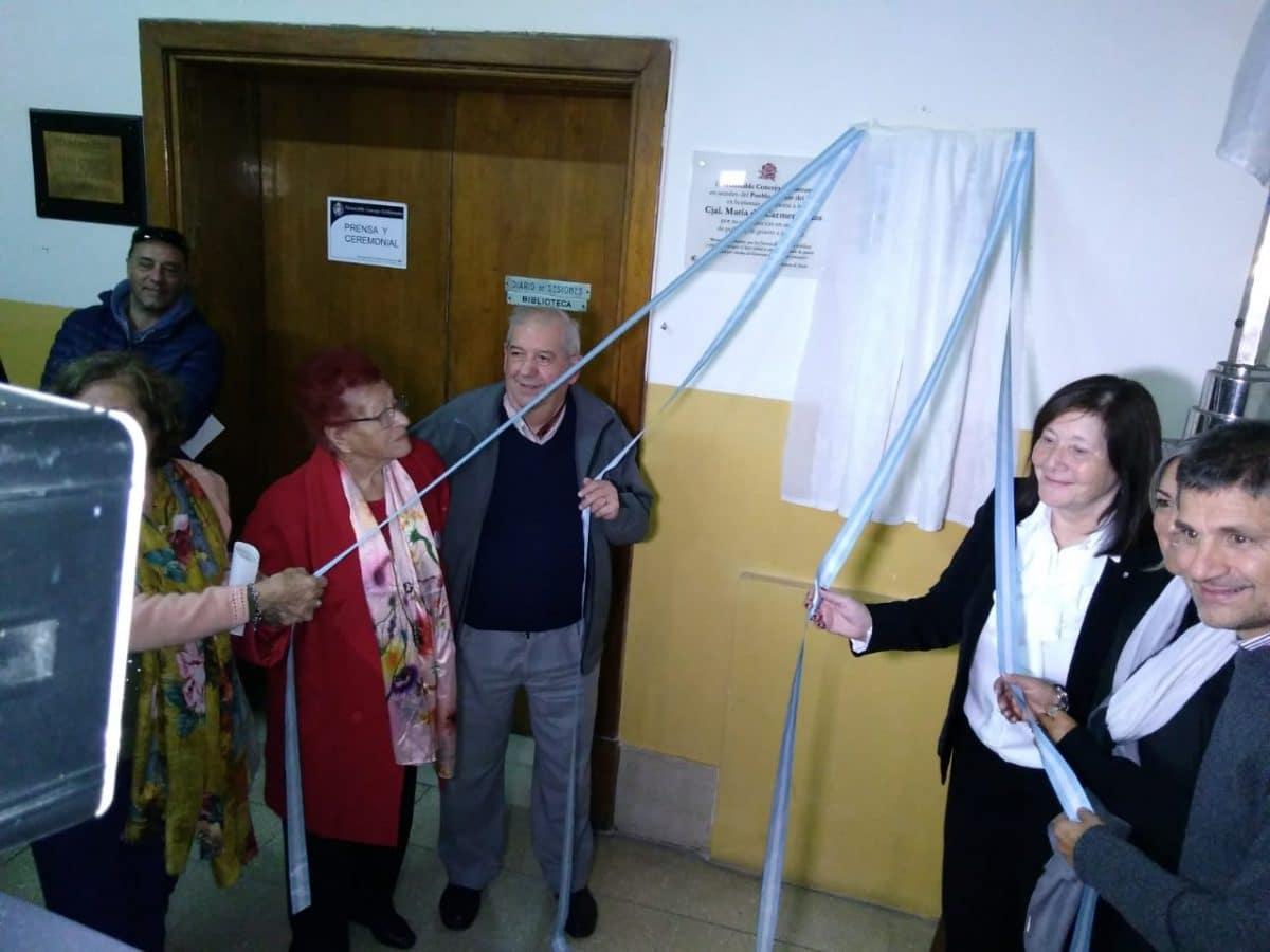 Emoción y reconocimientos en el Concejo Deliberante en el homenaje a Evita