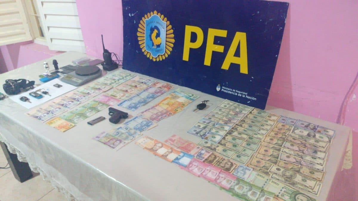 Desbaratan organización narco en Mar del Plata