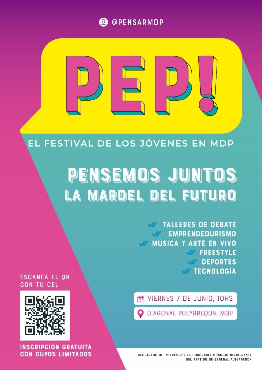 Se viene PEP!: El festival para los jóvenes marplatenses