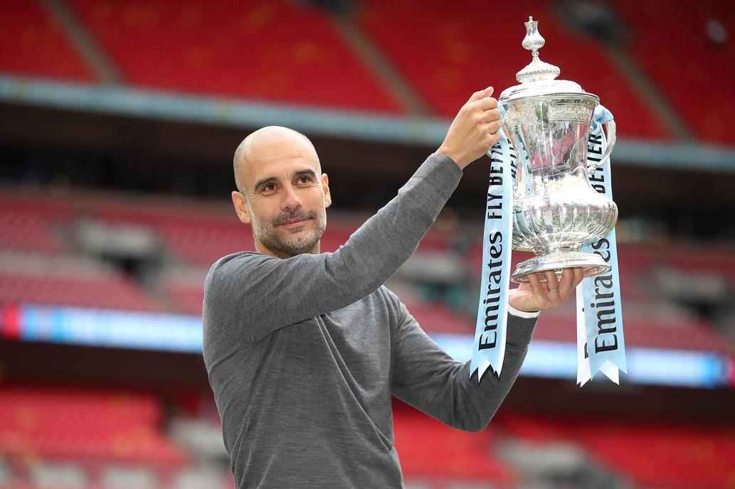 Pep Guardiola es récord en Inglaterra.