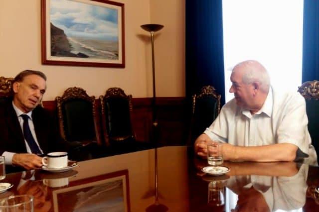 Importante reunión entre Guillermo Saenz Saralegui y Miguel Angel Pichetto