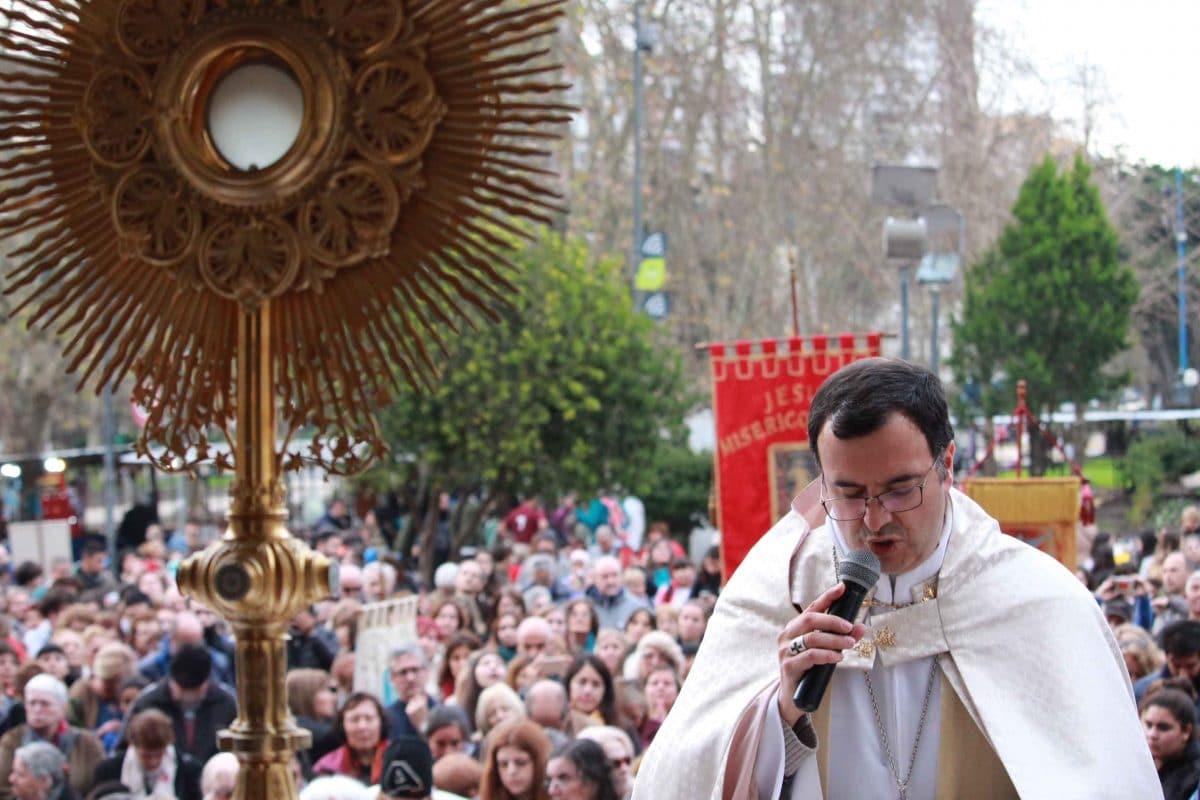 Una celebración diferente del Corpus Christi