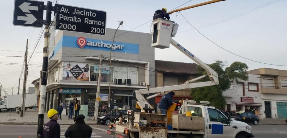 Habilitan giro a la izquierda en Jacinto Peralta Ramos y Fortunato de la Plaza
