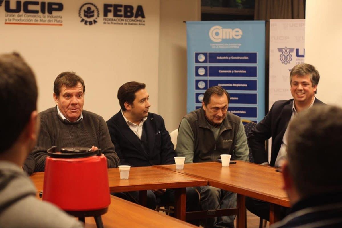 Montenegro, junto a jóvenes emprendedores de la ciudad