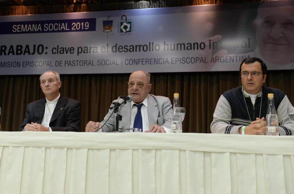 Arroyo inauguró la Semana Social 2019