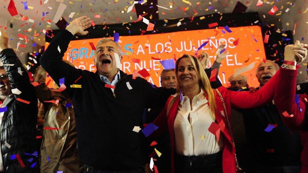 Cambiemos consiguió su primera victoria provincial del año en Jujuy y el peronismo festejó en Entre Ríos, Chubut y Tucumán
