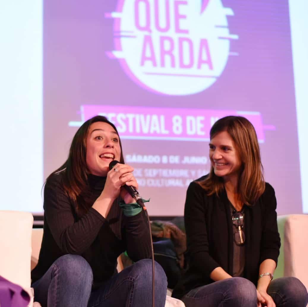 Gran festival feminista con la participación de Fernanda Raverta
