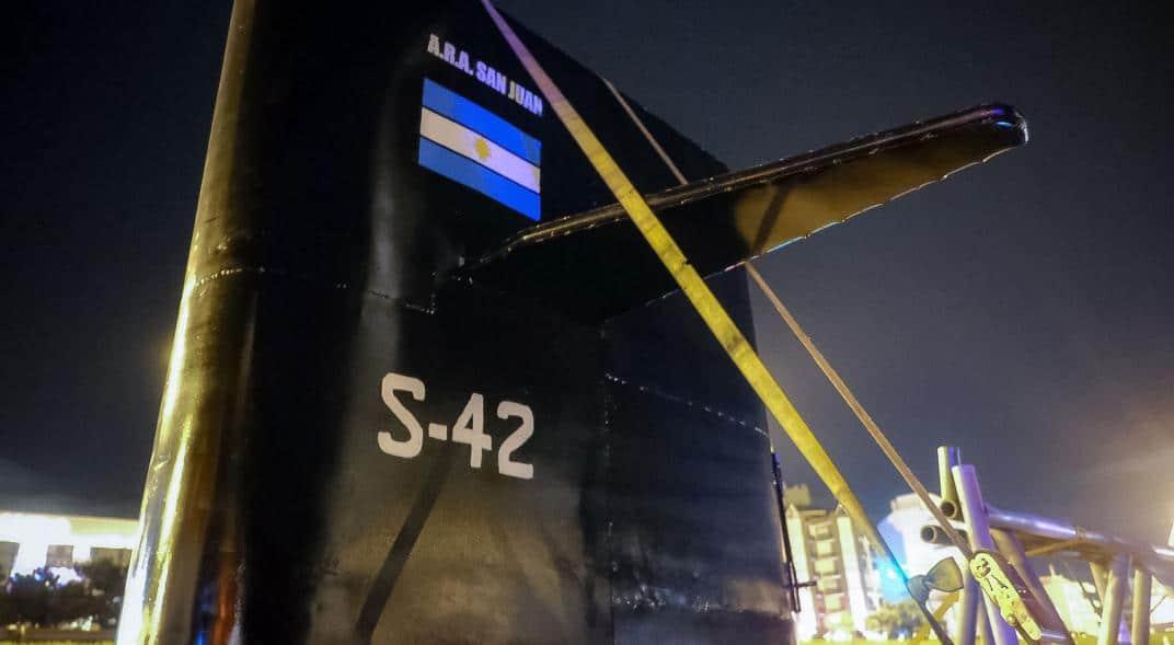 Una réplica del ARA San Juan será emplazada en el Museo de la Base Naval