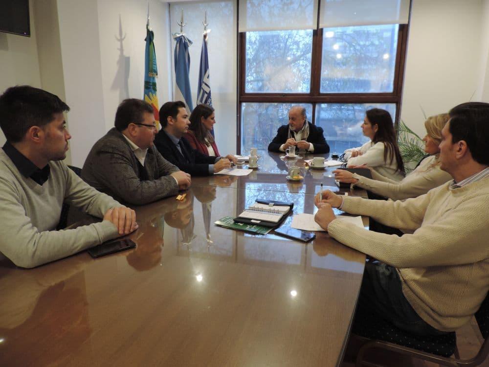 La UCIP y la Provincia proyectan acciones comerciales para vacaciones de invierno