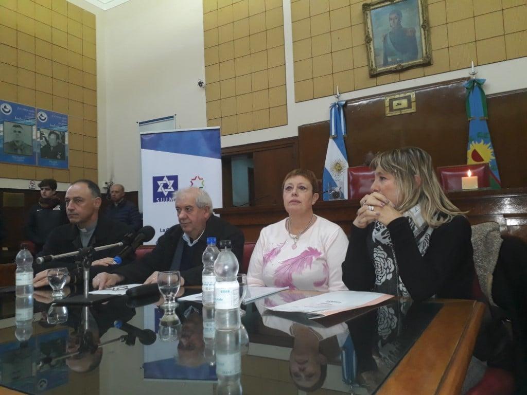 Se conmemoró en Mar del Plata el atentado a la AMIA