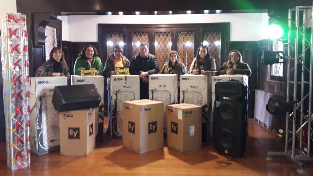 Nuevos equipos de sonido e iluminación para museos y centros culturales municipales