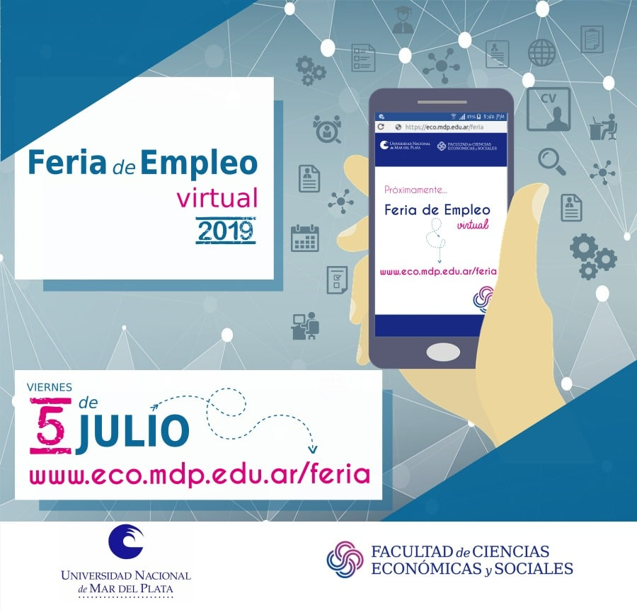Económicas realizará la 7ª Feria de Empleo Virtual